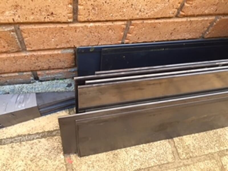 COR-TEN steel edging