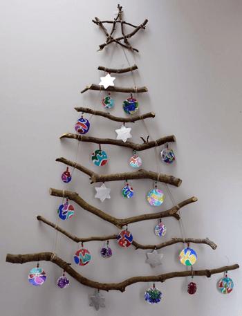 Xmas tree wall hanging
